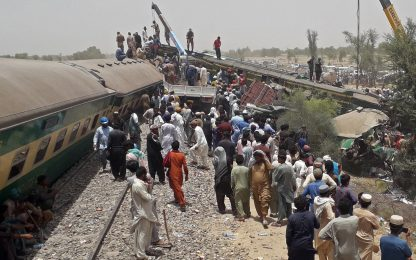 Incidente treni Pakistan, bilancio sale a 36 morti. Circa 60 i feriti