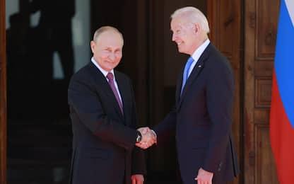 Vertice Biden-Putin: toni distesi ma problemi ancora aperti