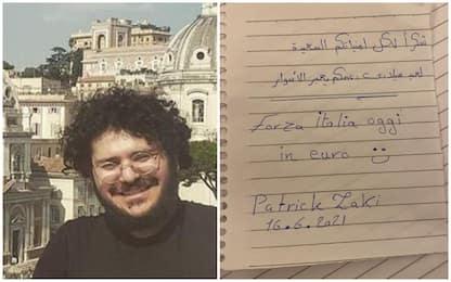 """""""Grazie per gli auguri e il sostegno"""": il messaggio di Zaki all'Italia"""