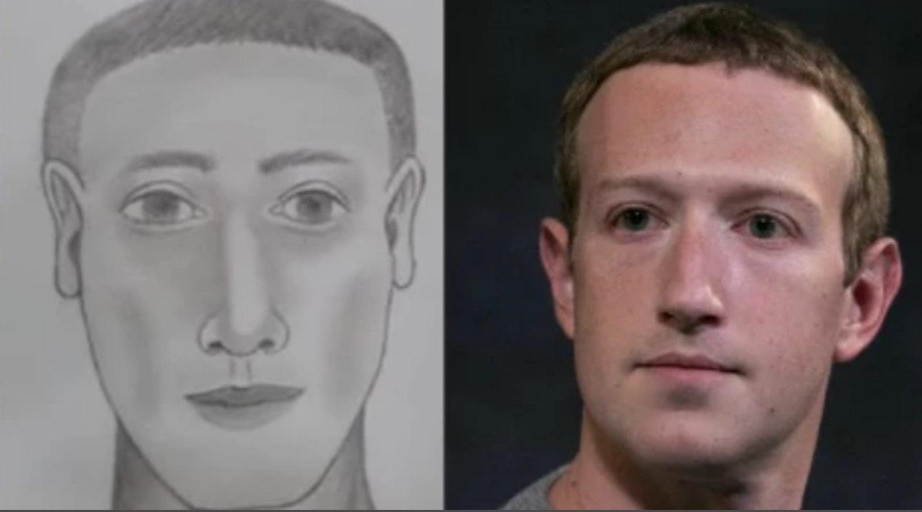 L'identikit e Zuckerberg