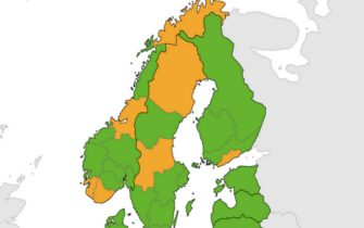 Mappa Scandinavia