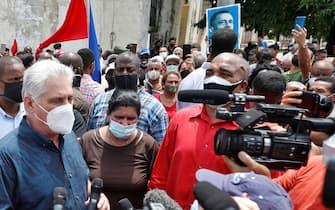 Il presidente cubano Miguel Diaz-Canel