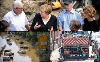 Alluvioni Germania e Belgio