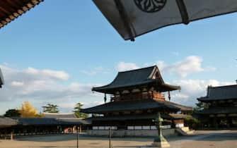 I monumenti buddhisti nella regione di Horyu-ji