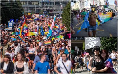 Gay pride in Ungheria, Budapest si colora di arcobaleno e sfida Orban