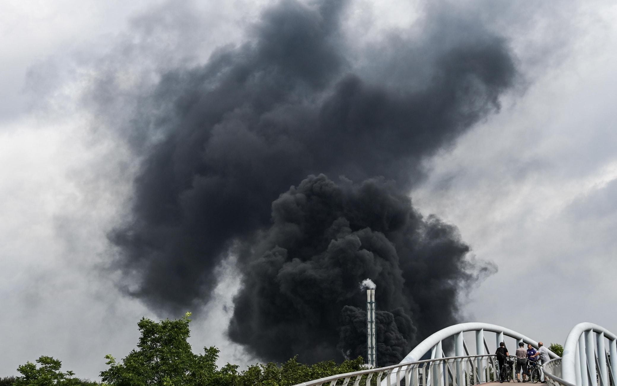 Esplosione Leverkusen Germania