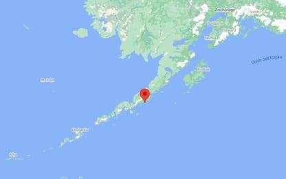 Terremoto di magnitudo 8.2 al largo dell'Alaska