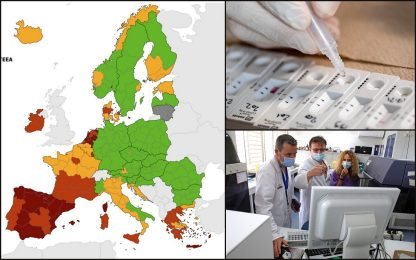 Covid, Sicilia e Sardegna ritornano zona rossa nelle mappe dell'Ue