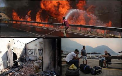 Incendi, fuoco assedia Mediterraneo: allarme anche in Grecia e Turchia