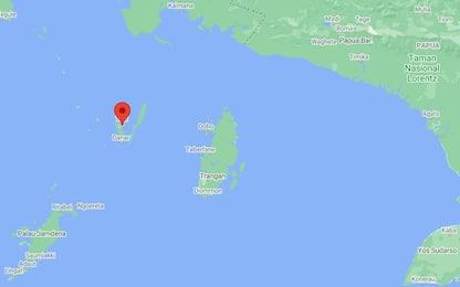 Terremoto, scossa di magnitudo 5.9 al largo di Papua