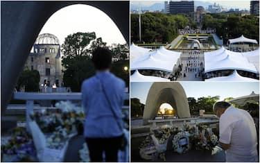 Le commemorazioni a Hiroshima