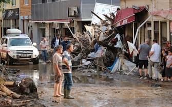I danni provocati dal maltempo in Turchia dopo le piogge torrenziali