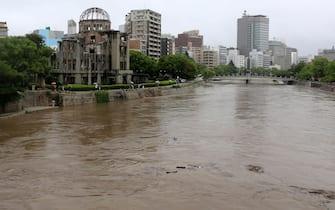 Il fiume Motoyasu, a Hiroshima, in Giappone