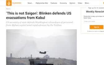 Afghanistan, il titolo di Al Jazeera