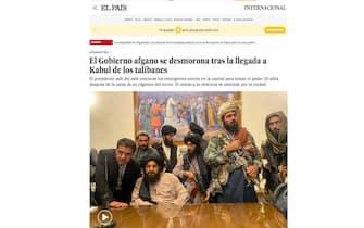 Afghanistan, il titolo di El Pais