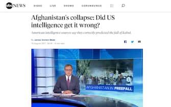 Afghanistan, il titolo di Abc News