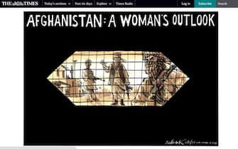 Afghanistan, il titolo del The Times