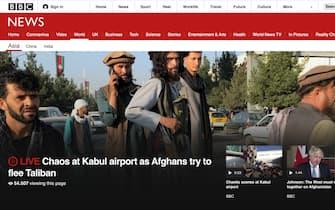 Afghanistan, il titolo della Bbc