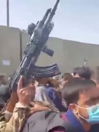 Caos all'aeroporto di Kabul