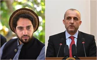 Ahmad Massoud e Amrullah Saleh