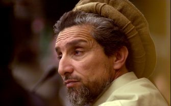 FRANCE - APRIL 05:  Commandant Massoud At The European Parliament On May 4Th, 2001 In Strasbourg, France.   (Photo by Francis DEMANGE/Gamma-Rapho via Getty Images)