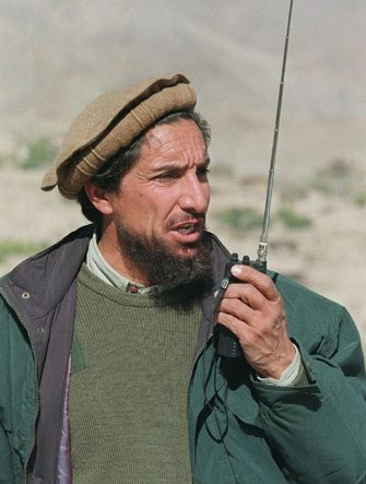 (FILES) - File photo taken 10 November 1996 near Qara Bagh of Afghan opposition commander Ahmad Shah Masood. Masood, who was severely wounded in a suicide assassination attempt, has died, the Afghan Islamic Press (AIP) news agency reported 14 September 2001. The Pakistan-based agency, which has close contacts to Afghanistan's ruling Taliban regime, said Masood has died 14 September inside the country. AFP PHOTO GUY TILLIM (Photo credit should read GUY TILLIM/AFP via Getty Images)