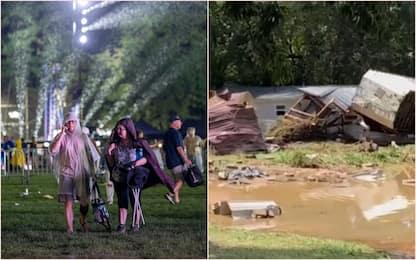 Usa, uragano Henri minaccia NY. Alluvione in Tennessee: 10 morti