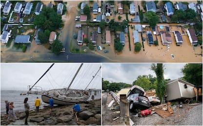Usa: oltre 20 morti in Tennessee per inondazioni, allarme per Henri