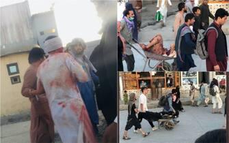 Kabul: attentato kamizake all'aeroporto. LE IMMAGINI DEI FERITI