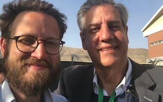Un tweet di Guido Crosetto, 27 agosto 2021. ''I due Italiani che fino all ultima ora possibile hanno rappresentato il nostro Paese a Kabul, si preparano a tornare. Noi ad accoglierli con il rispetto che merita chi svolge il proprio lavoro fino in fondo, sempre. Onore a @pontecorvoste  e Tommaso Claudi''. TWITTER GUIDO CROSETTO +++ATTENZIONE LA FOTO NON PUO' ESSERE PUBBLICATA O RIPRODOTTA SENZA L'AUTORIZZAZIONE DELLA FONTE DI ORIGINE CUI SI RINVIA+++ +++NO SALES; NO ARCHIVE; EDITORIAL USE ONLY+++