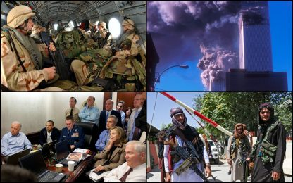 Afghanistan, 11 settembre 2001 - 2021