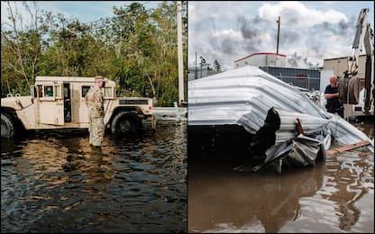 Uragano Ida, confermata una seconda vittima in Louisiana. FOTO