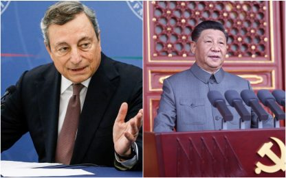 Afghanistan, telefonata tra Draghi e Xi Jinping in vista del G20