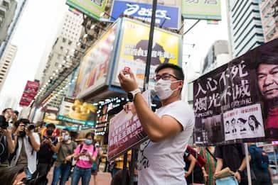 Hong Kong: 4 attivisti arrestati per veglia in memoria di Tienanmen