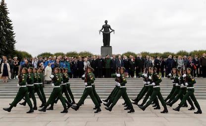 Russia, 80 anni fa l'assedio di Leningrado: la commemorazione. FOTO