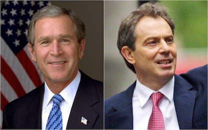 Bush - Blair, la relazione speciale contro l'Asse del male