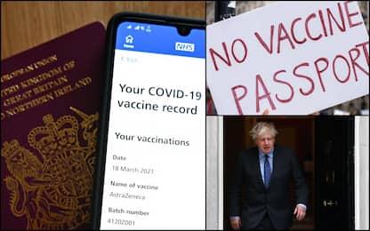 Pass vaccinale, Inghilterra ci ripensa: no obbligo per eventi e locali