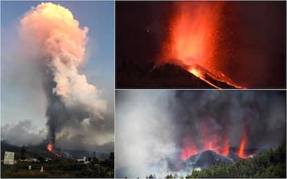 Spagna, erutta vulcano sull'isola di La Palma. Migliaia di evacuati