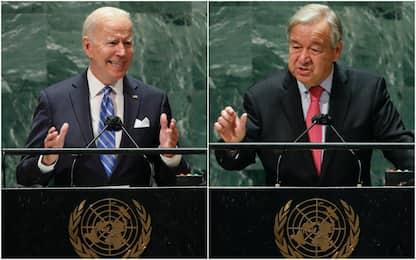 "Onu, Guterres: ""Crisi clima, agire ora"". Biden: ""Lavoriamo insieme"""