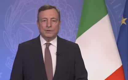 "Draghi all'Onu: ""G20 su Afghanistan per evitare catastrofe sociale"""