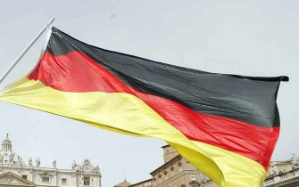 Una bandiera tedesca