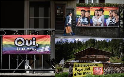 """Referendum Svizzera, il """"matrimonio per tutti"""" vince con il 64%"""
