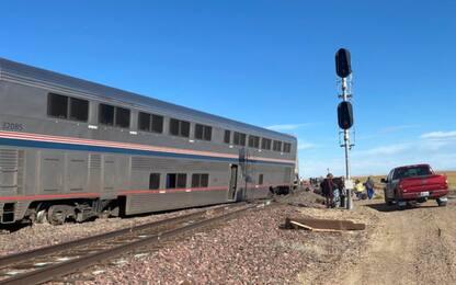 Usa, deraglia treno Chicago-Seattle: almeno 3 morti. FOTO