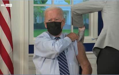 Stati Uniti, terza dose di vaccino anche per Biden