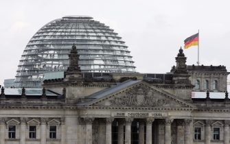 BERLIN - FEBRUARY 14:  A general view of the German lower House of Paliament, the Reichstag, which houses Germany's parliament, the Bundestag is seen on February 14, 2007 in Berlin, Germany.   (Photo by Andreas Rentz/Getty Images)