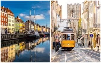 Copenhagen e Lisbona