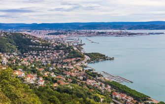 Trieste Gulf Landscape.