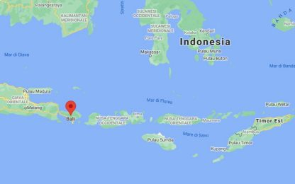 Terremoto di magnitudo 4.8 a Bali, almeno tre morti e diversi feriti