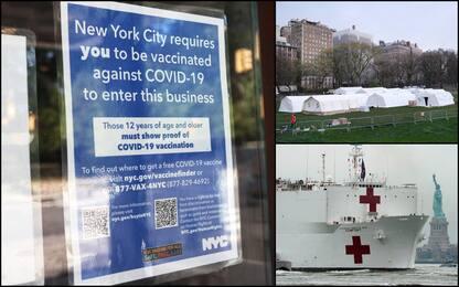 Covid, New York torna alla normalità grazie ai vaccinati. VIDEO