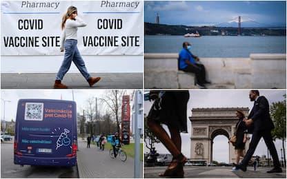 Covid, la pandemia in Europa: dal Regno Unito alla Russia